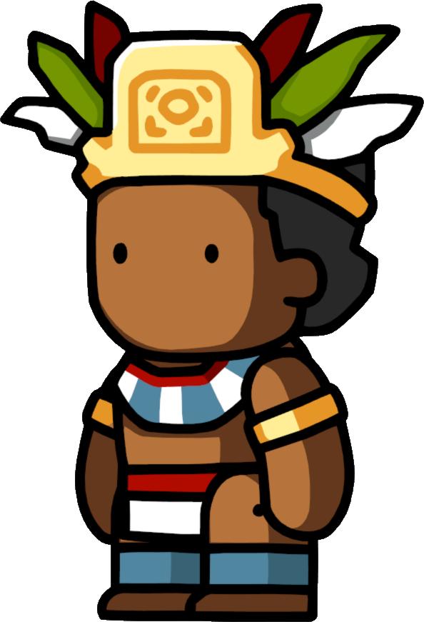 Aztec clipart montezuma. Scribblenauts wiki fandom powered