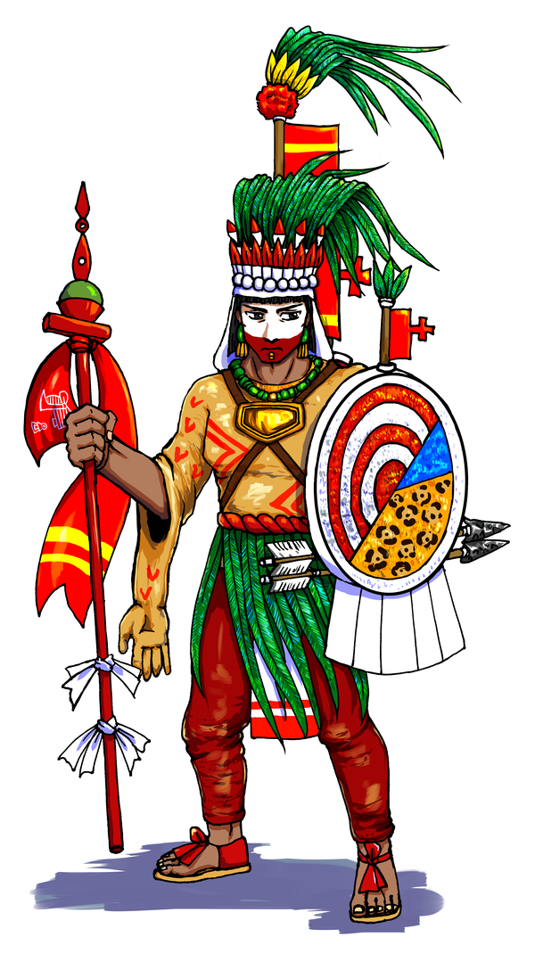 Aztec clipart montezuma. Moctezuma ii who dresses