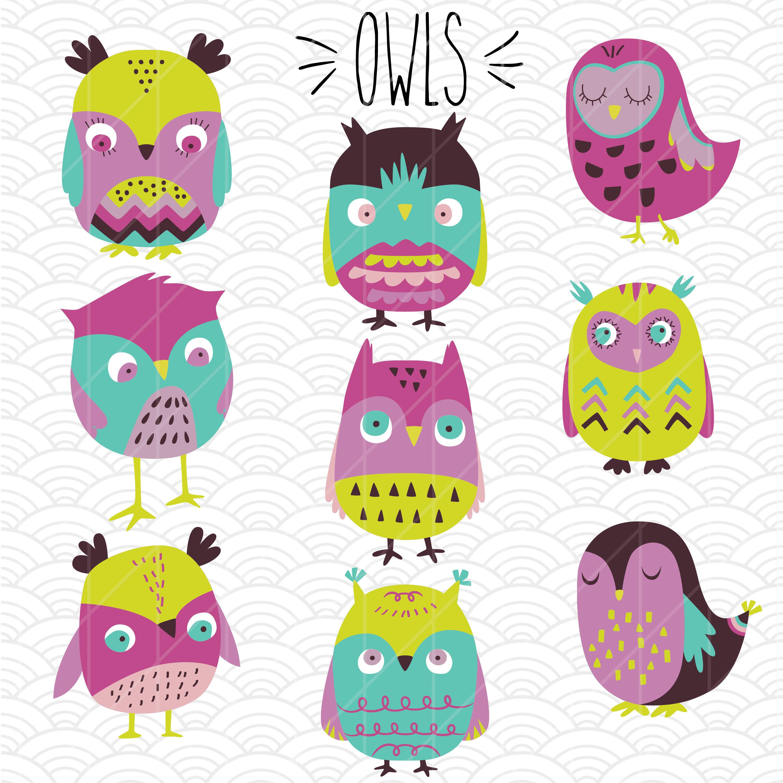 Aztec clipart owl. Owls svg hand drawn