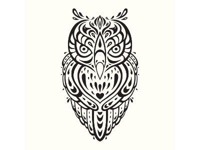 Aztec clipart owl. Tattoo designs and aztecowltattoojpg