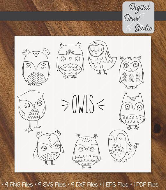 Owls clip art hand. Aztec clipart owl