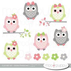 Aztec clipart owl. Digital paper watercolor patterns