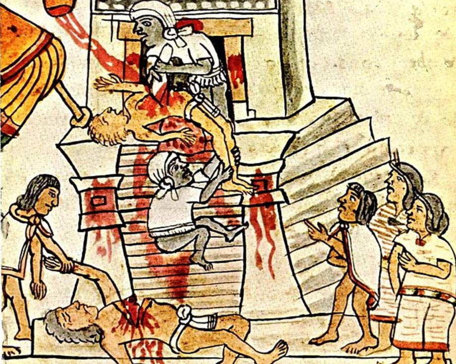 Aztec clipart ritual. Death whistles sound like