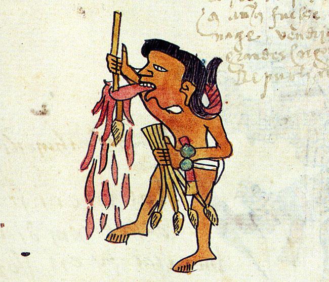 Self sacrifice pic a. Aztec clipart ritual