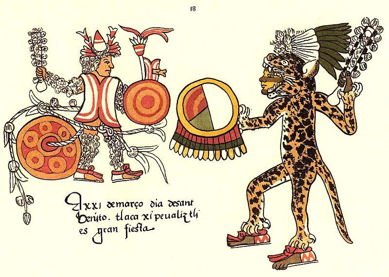 Aztec clipart ritual. Warriors the flower wars