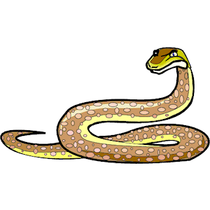 Python cliparts of free. Snake clipart illustration