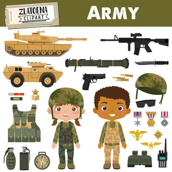 Soldiers clipart solider. Army military vector graphics