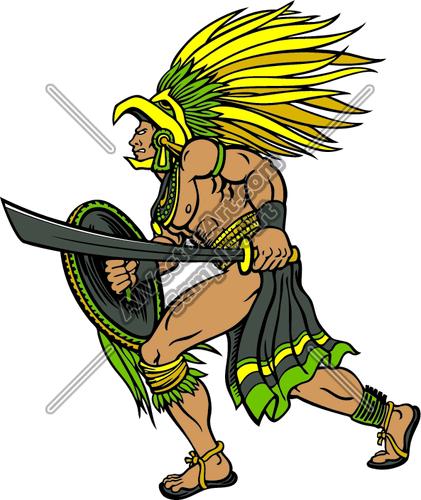 Aztec soldier