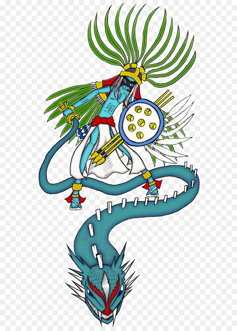 Huitzilopochtli mythology deity codex. Aztec clipart transparent
