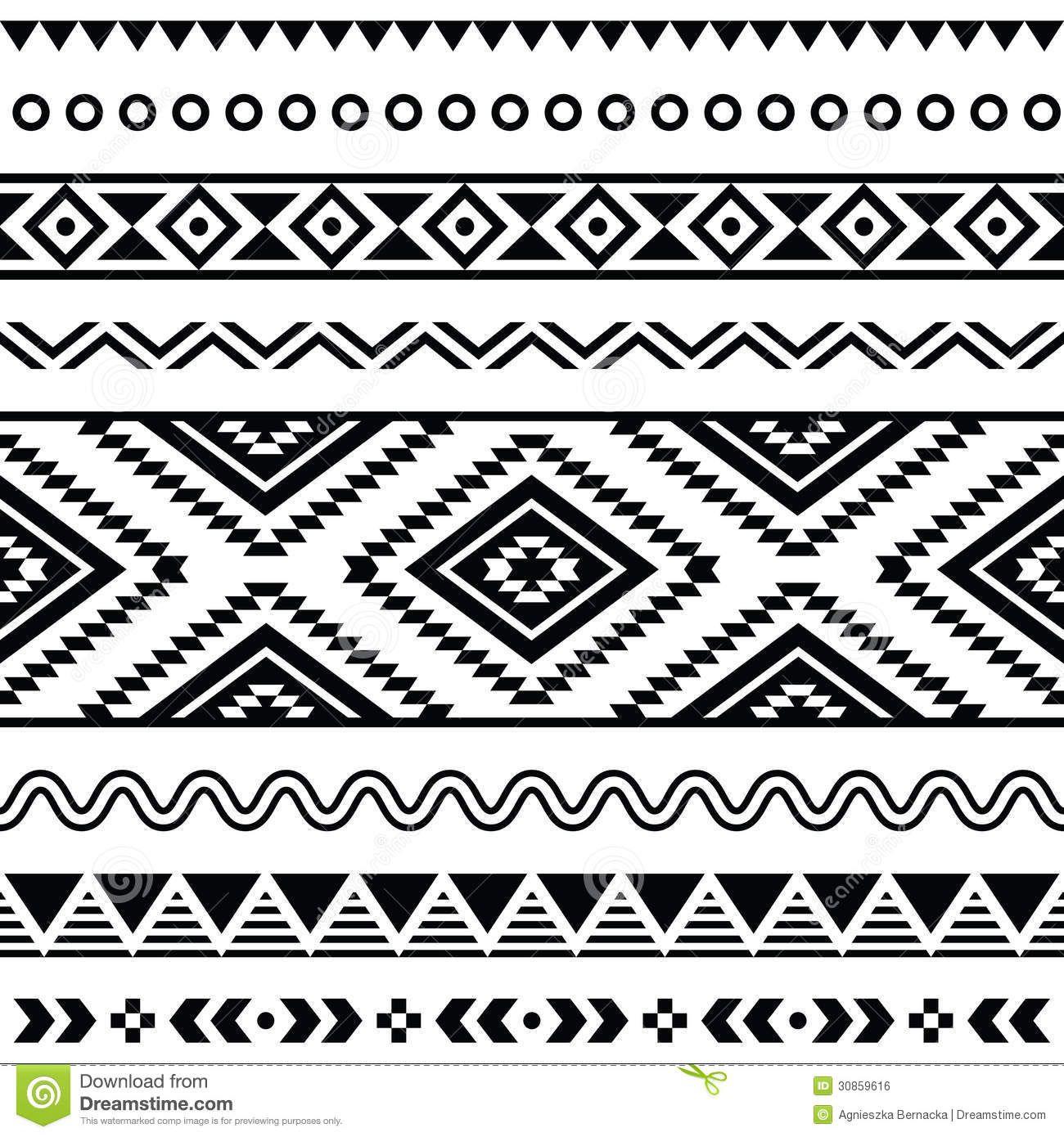 Aztec clipart tribal print. Free southwest clip art