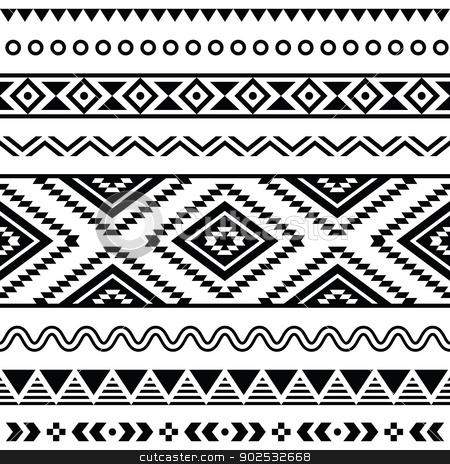 Backgrounds . Aztec clipart tribal print