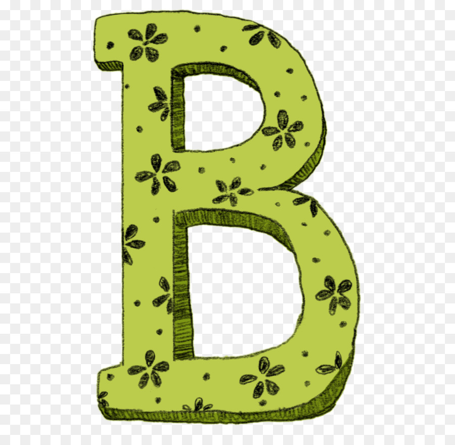 Alphabet letter clip art. B clipart