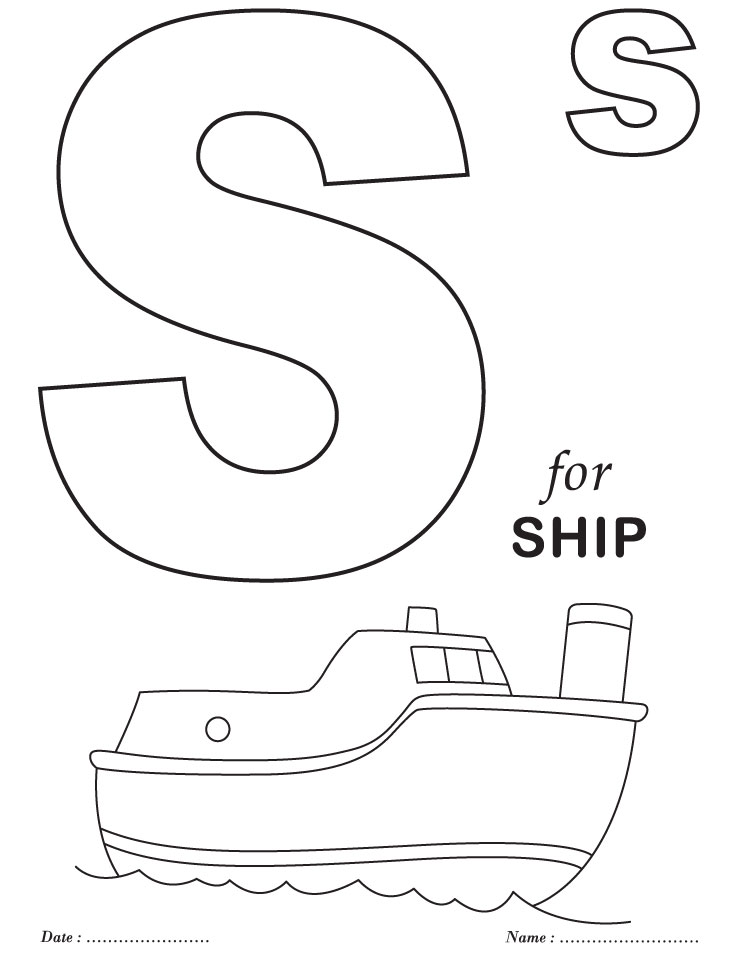 B clipart alphabet coloring page. Free printable pages colouring