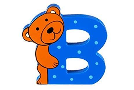 B clipart animal alphabet letter. Amazon com wooden freestanding