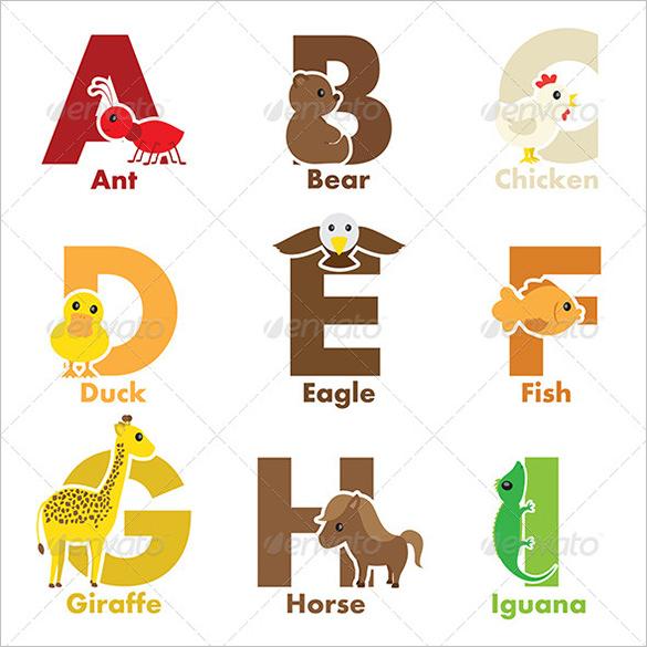 B clipart animal alphabet letter.  best printable letters