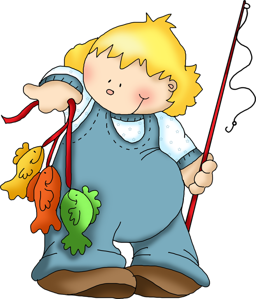 Fishing kids clip art. Oil clipart oliver