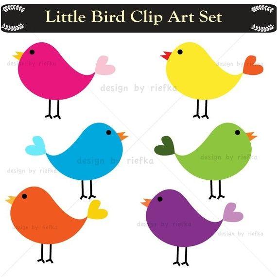 Little Bird digital Clip art