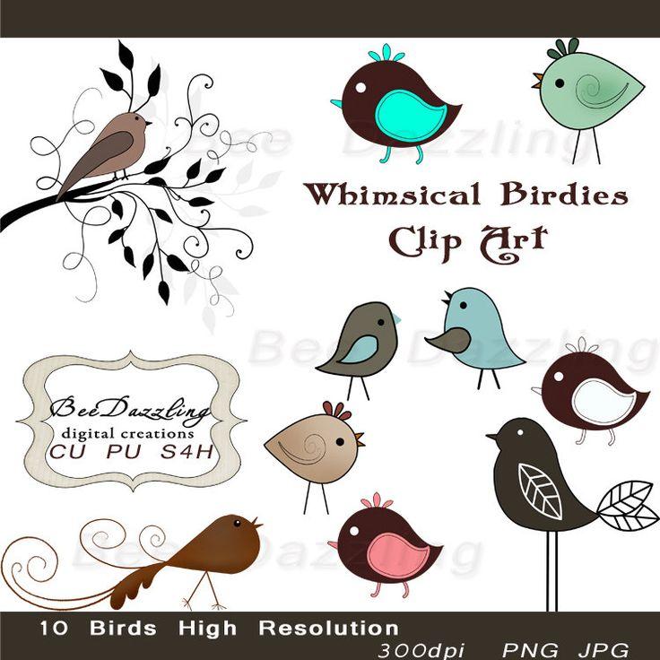 best voel vry. B clipart bird craft
