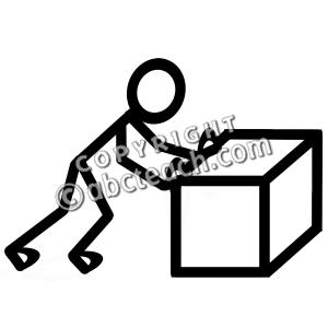 Design push clip art. B clipart bold