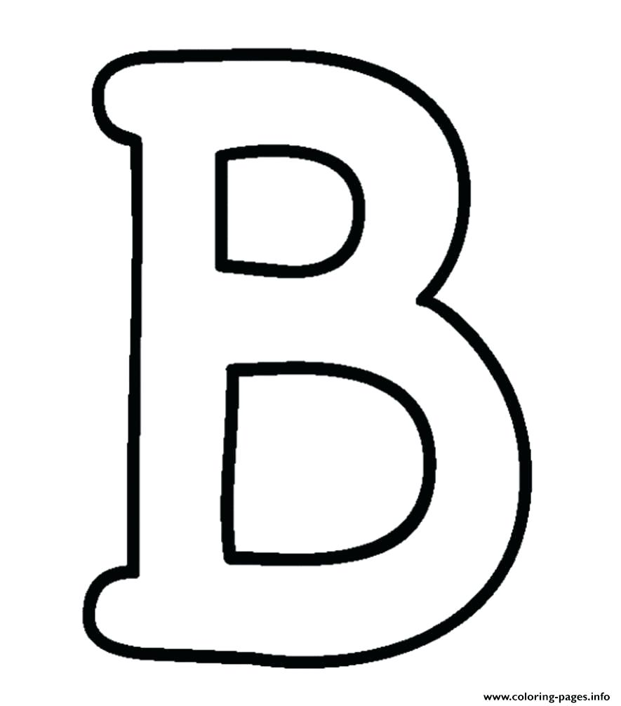 Writing coloring pages spineprint. B clipart bubble letter