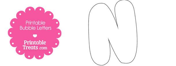 B clipart bubble letter. Printable n template treats