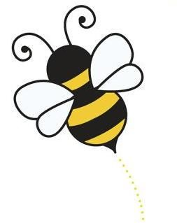 B clipart bumblebee craft.  best bees color