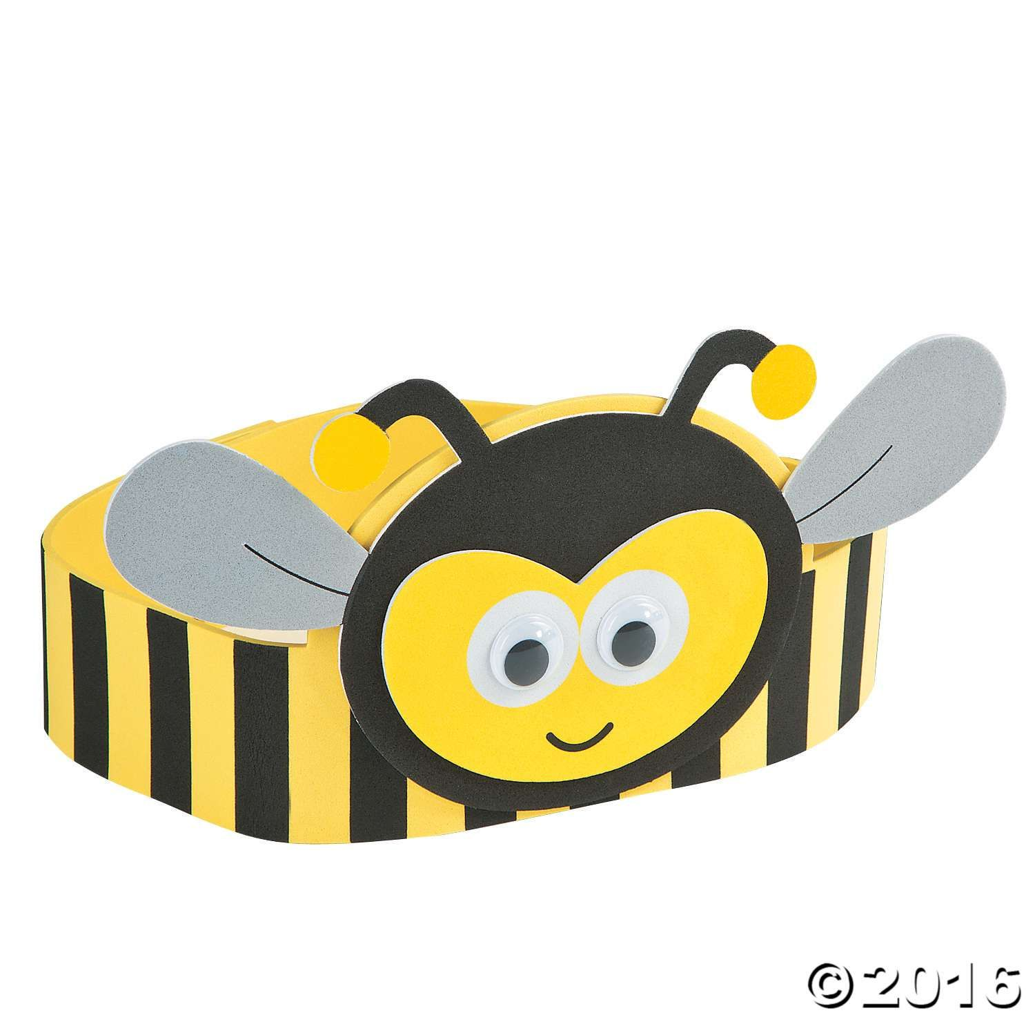B clipart bumblebee craft. Bee headband kit costume