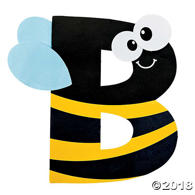 B clipart bumblebee craft. Is for letter kit