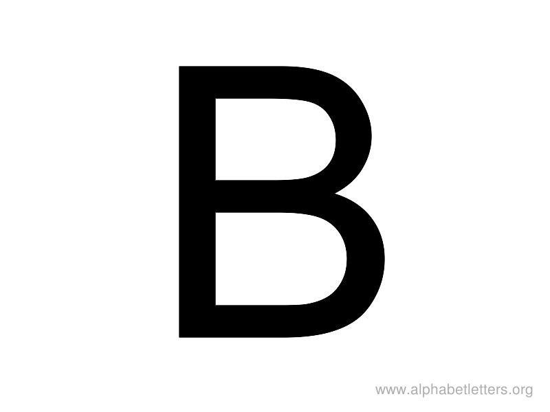 Alphabet Letters B Printable Letter B Alphabets