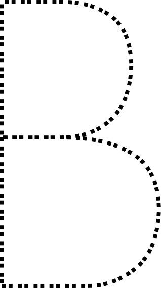 Clip art free vector. B clipart capital letter