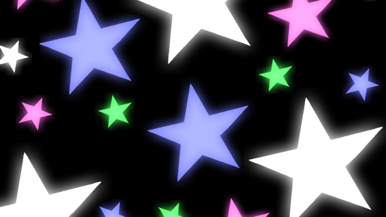 B clipart colorful. Stars wallpaper panda free