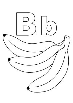 B clipart colouring. Top free printable letter