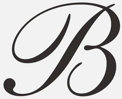B clipart cursive. Letter dailypoll co fancy