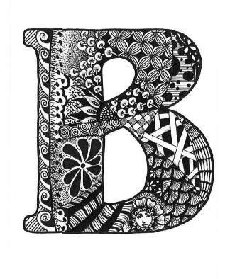 best letter images. B clipart doodle