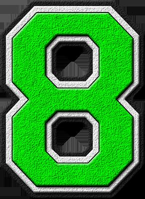 B clipart green. Presentation alphabets kelly varsity