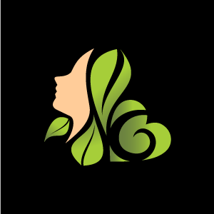 Heart leaves and of. B clipart green