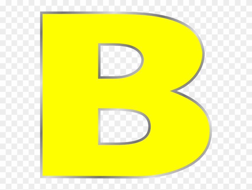Clip art of letter. B clipart green