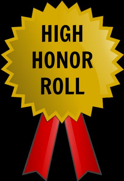 High grade rd marking. B clipart honor roll