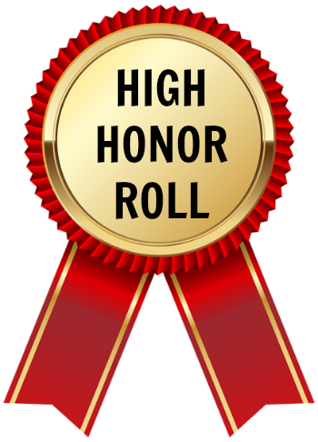 B clipart honor roll. High grade rd marking