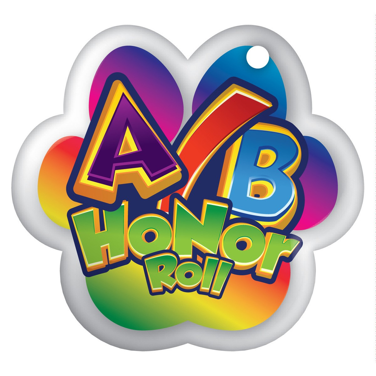 B clipart honor roll. A brag tags student