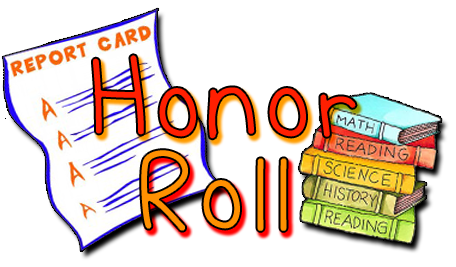 B clipart honor roll. A and ab st