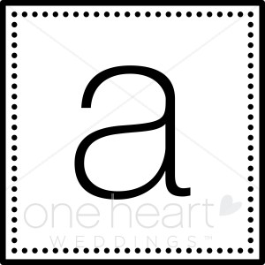Monogram a wedding monograms. B clipart initial