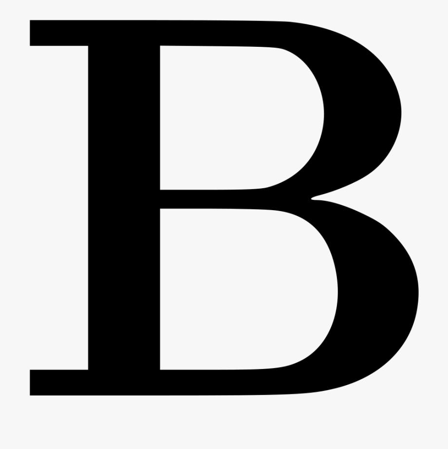 B clipart letter b. Design black free cliparts