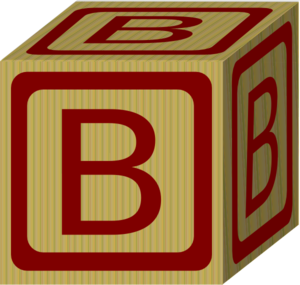 Alphabet Block B Clip Art at Clker