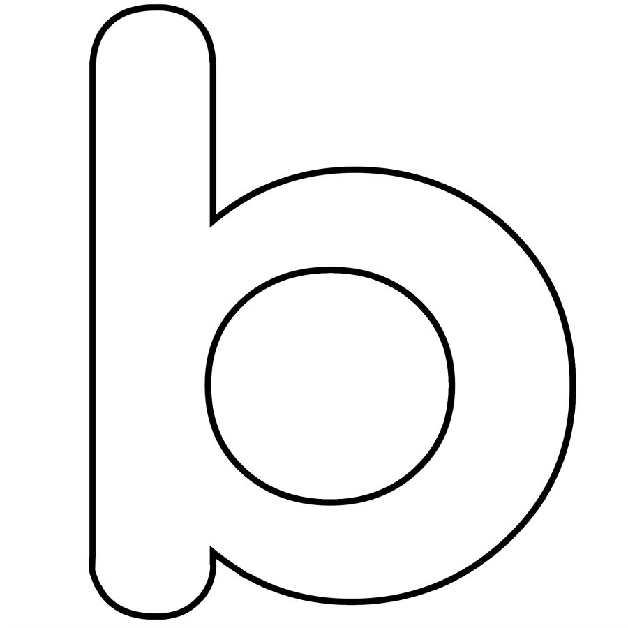 Letter letters example with. B clipart lowercase