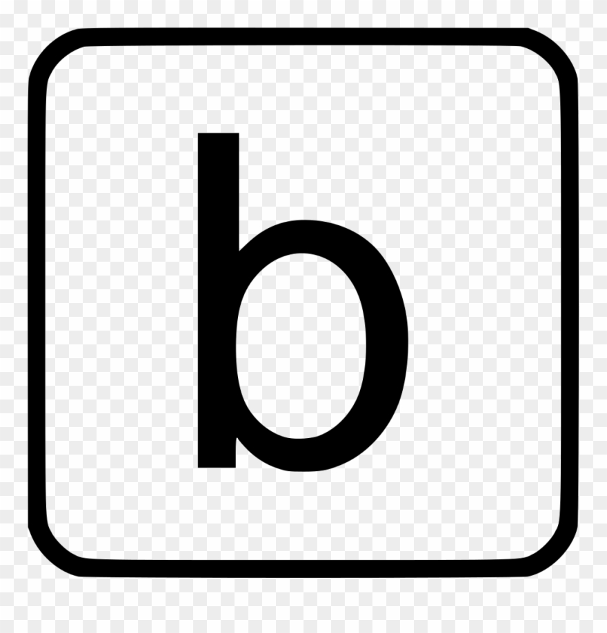 Image transparent alphabet png. B clipart lowercase
