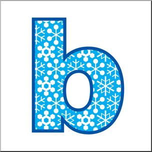 Clip art alphabet set. B clipart lowercase