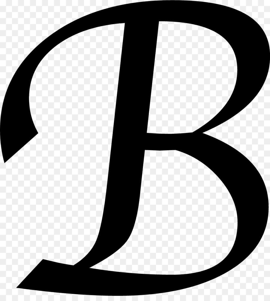 Letter initial clip art. B clipart monogram