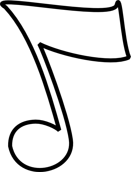 B clipart music note. Musical and w clip