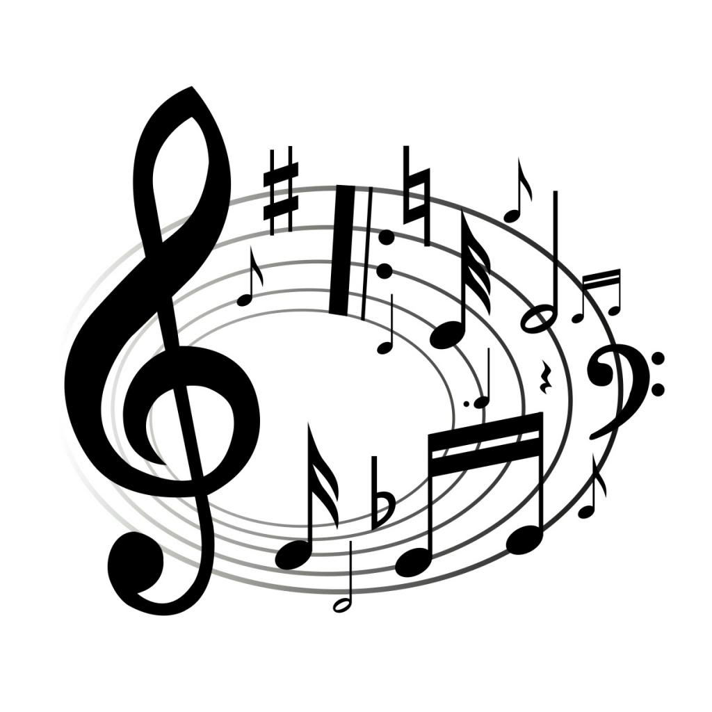 Best of musical notes. B clipart music note